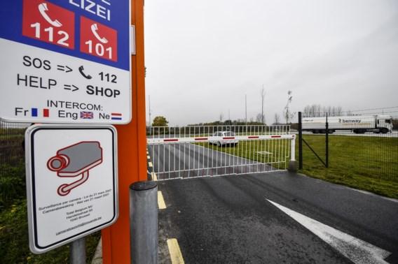 Kalken heeft eerste sterk beveiligde parking voor vrachtwagens in Vlaanderen