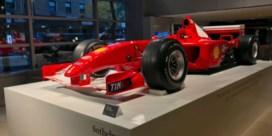 F1-bolide van Michael Schumacher voor recordbedrag onder de hamer in New York