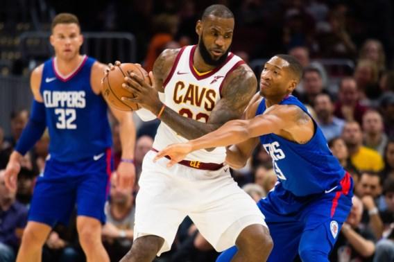 Cleveland Cavaliers gaan in verlenging langs Clippers