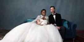 Zo zag het trouwfeest van Serena Williams eruit