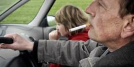Binnenkort in Wallonië verboden te roken in wagens met kinderen