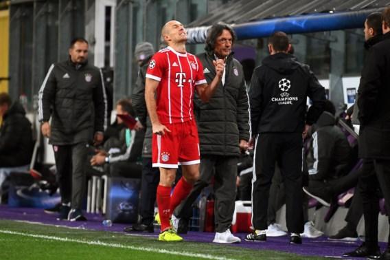 Blessuregevoelige Arjen Robben likt zijn wonden na Anderlecht en is alweer even out