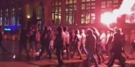 Vier heethoofden opgepakt na betoging in Gentse binnenstad