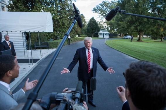 Trump wil trofee voor 'fake news'