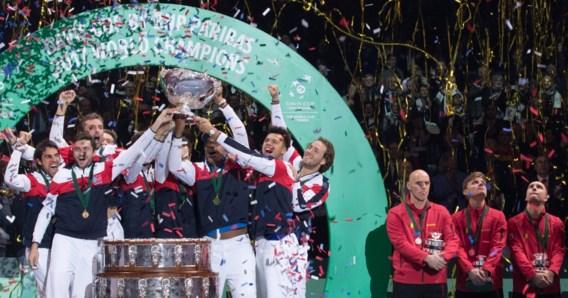 Belgisch Davis Cup-team komt na finale ook op het podium terecht in klassement