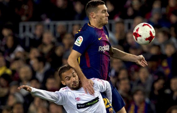 Vermaelen en Carrasco plaatsen zich voor achtste finales Copa del Rey