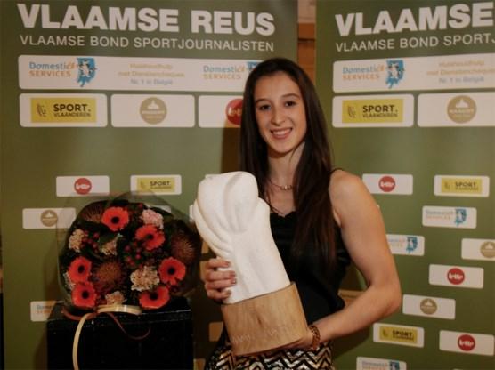 """Gymnaste Nina Derwael wint Vlaamse Reus: """"Ik ben zelf toch een beetje verbaasd"""""""