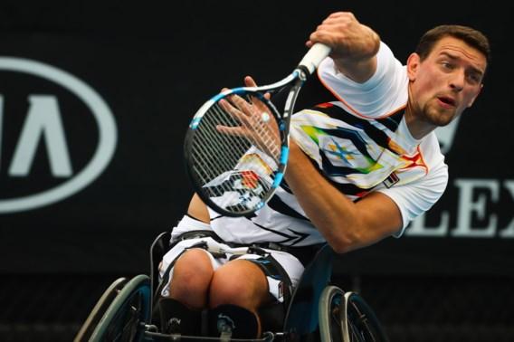 Joachim Gérard wint ook laatste groepswedstrijd op Masters rolstoeltennis