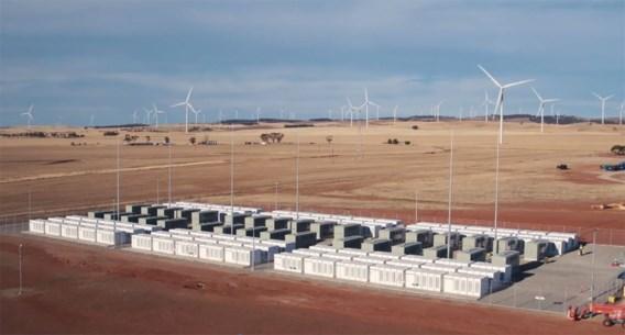 Tesla activeert gigabatterij in Australië