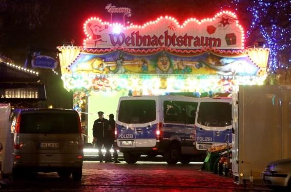 Politie ontruimt kerstmarkt in Potsdam: 'Nog geen ontstekingsmechanisme gevonden'