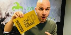 Stan Van Samang deelt 2 gouden tickets uit