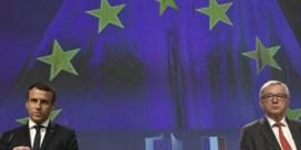Juncker tempert grote plannen van Macron