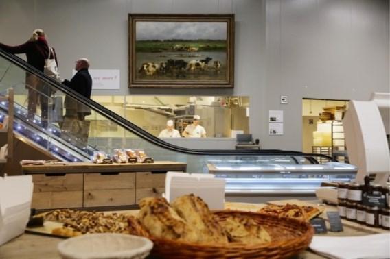 'Een stokbrood, een fles wijn en een schilderij van 500.000 euro, alstublieft'