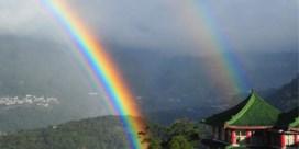 Langste regenboog ooit meet 8 uur en 58 minuten