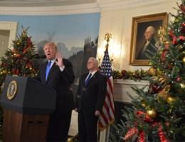 Trump erkent Jeruzalem als hoofdstad Israël