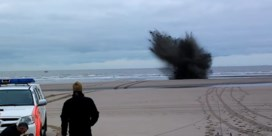 Dovo brengt bommen tot ontploffing op strand De Haan