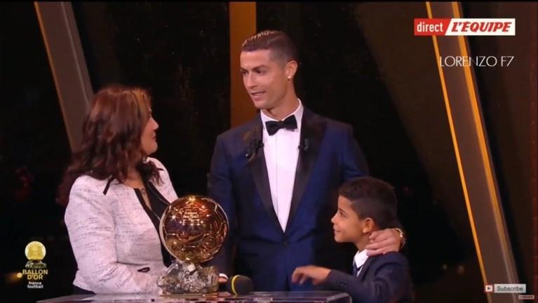 Cristiano Ronaldo wint zijn vijfde Gouden Bal, beste Belg haalt top-10 niet