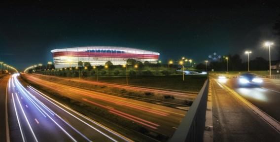 Exit Eurostadion, het natrappen begint