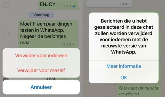 Zo hou je een verzonden WhatsApp-bericht alsnog tegen