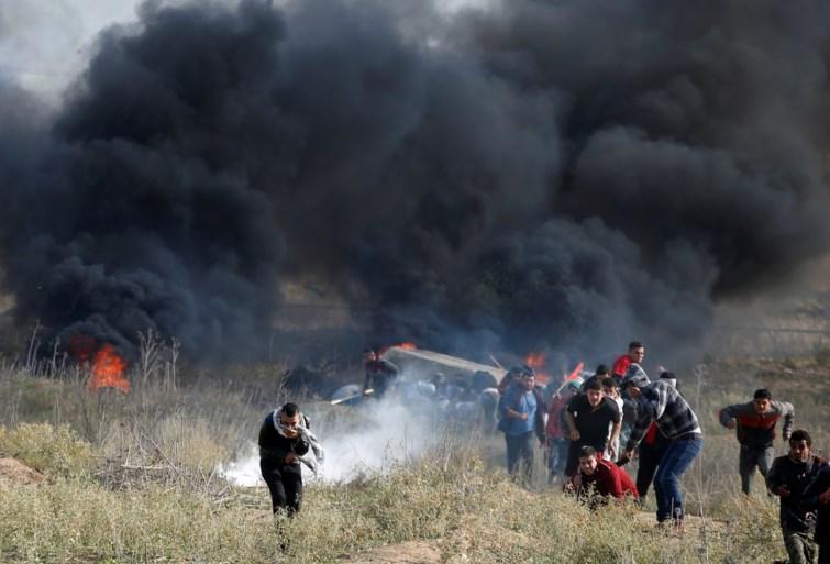 'Twee doden en meer dan 200 gewonden bij Palestijnse protesten'