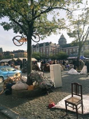 Brussel bindt strijd aan met 'strooifietsen'