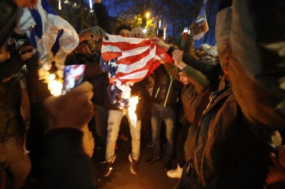 Grote politiemacht voor pro-Palestijnse betoging in Brussel