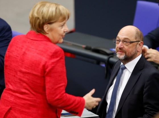 SPD bedenkt zich: opnieuw regeren met Merkel moet toch kunnen