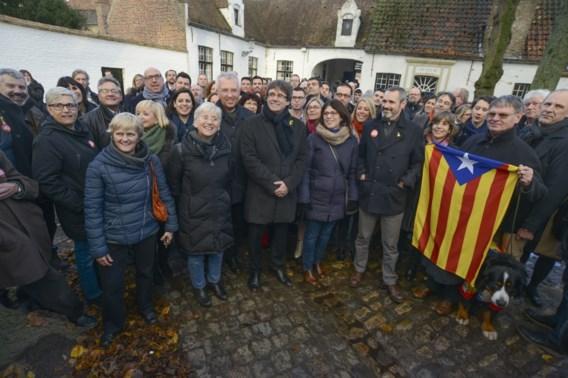 Catalanen koppelen betoging bezoek Brugge en Gent