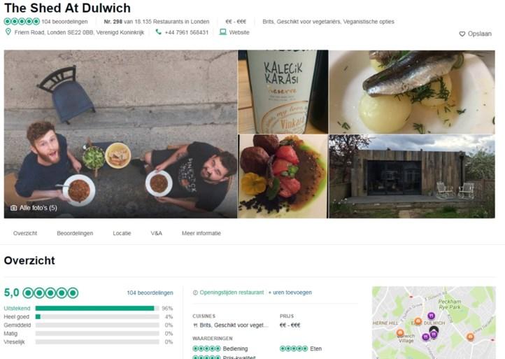 'Hoe ik van mijn schuur een toprestaurant op Tripadvisor maakte'