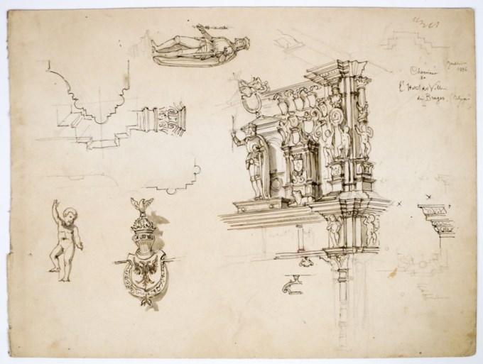 Te koop: originele ontwerpen van De Munt en Bourlaschouwburg
