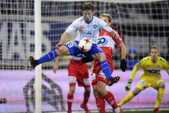 Gent blijft winnen: ook KV Kortrijk moet duimen leggen