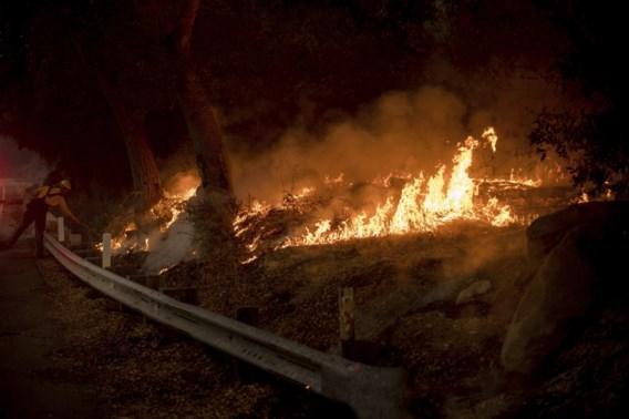 Bosbranden Californië eisen eerste dode