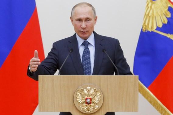 Poetin kondigt terugtrekking aan van grootste deel van Russische troepen uit Syrië