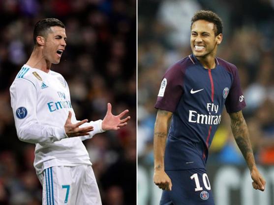 Ronaldo versus Neymar is topaffiche in Champions League, Hazard kan zich tonen in Camp Nou
