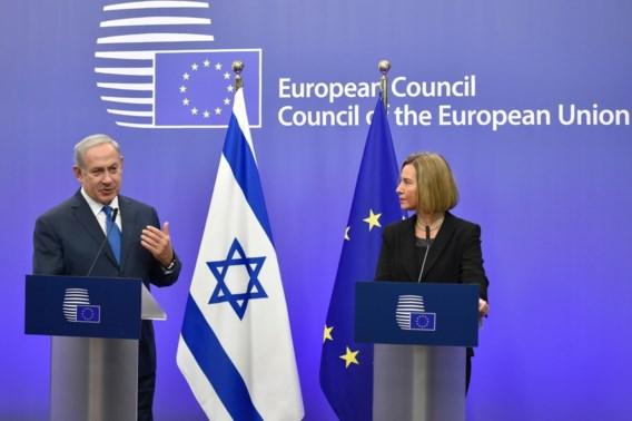 Netanyahu vraagt in Brussel Europese steun voor erkenning Jeruzalem