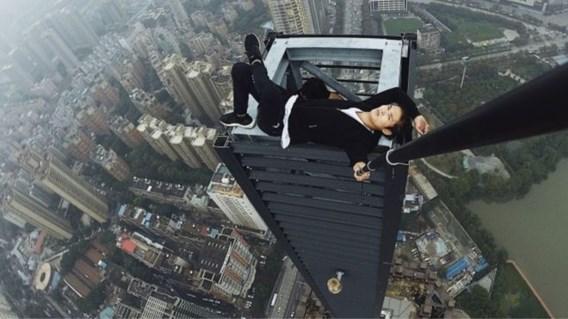 Chinese waaghals overleden na val van wolkenkrabber