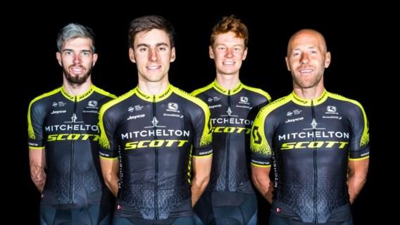 Australische wielerploeg Orica-Scott verandert (opnieuw) van naam: Mitchelton-Scott