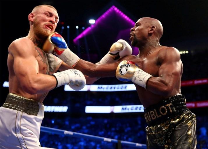 Boksduel Mayweather en McGregor is op één na meest lucratieve sportwedstrijd ooit