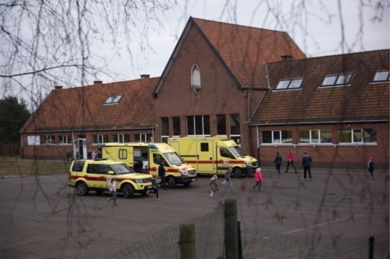 Kinderen terug thuis na aanval hond op school