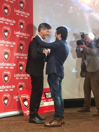 Felice Mazzu wint Trofee Raymond Goethals als beste trainer van het jaar