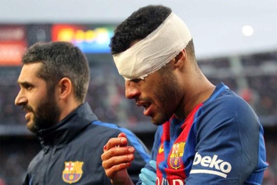 Rafinha viert na acht maanden blessureleed comeback bij Barcelona