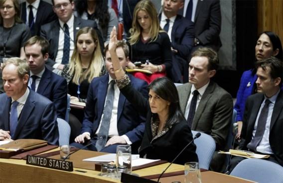 VS verhinderen Jeruzalem-resolutie in VN-Veiligheidsraad