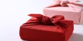 Japanse techniek helpt u cadeaus inpakken