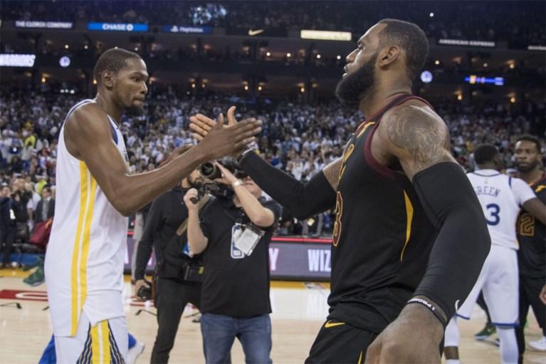 Golden State Warriors winnen kerstkraker tegen Cleveland Cavaliers