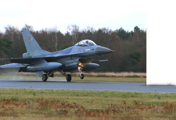 Missie van Belgische F-16's in Syrië en Irak is ten einde