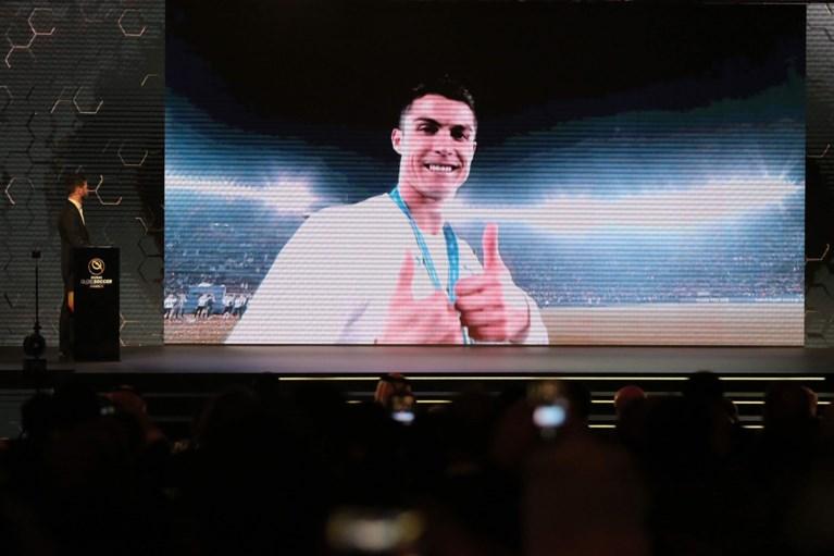 Cristiano Ronaldo verkozen tot Speler van het Jaar op Globe Soccer Awards in Dubai