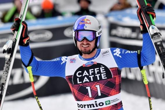 Dominik Paris wint voor eigen publiek de afdaling in Bormio