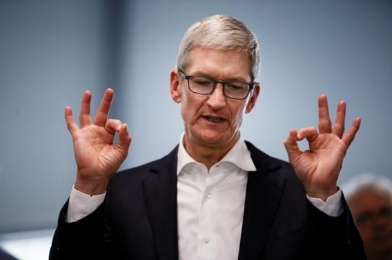 Zoveel verdiende Apple-topman Tim Cook