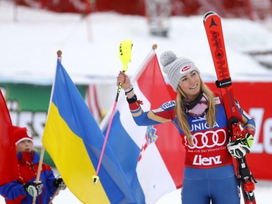 Ongenaakbare Shiffrin pakt met slalom in Linz haar derde zege op rij