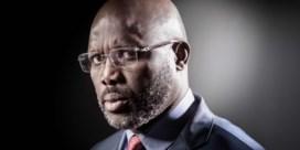 Voetballer wordt president in Liberia